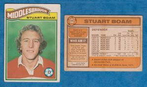 Middlesbrough Stuart Boam 189